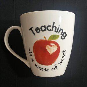 Pfaltzgraff large teachers ceramic cup mug